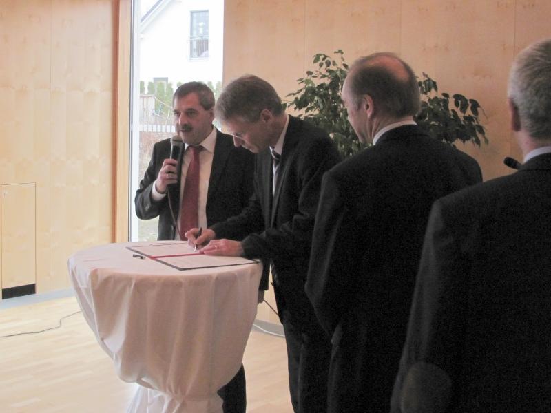 Unterzeichung Waldseer Erklärung