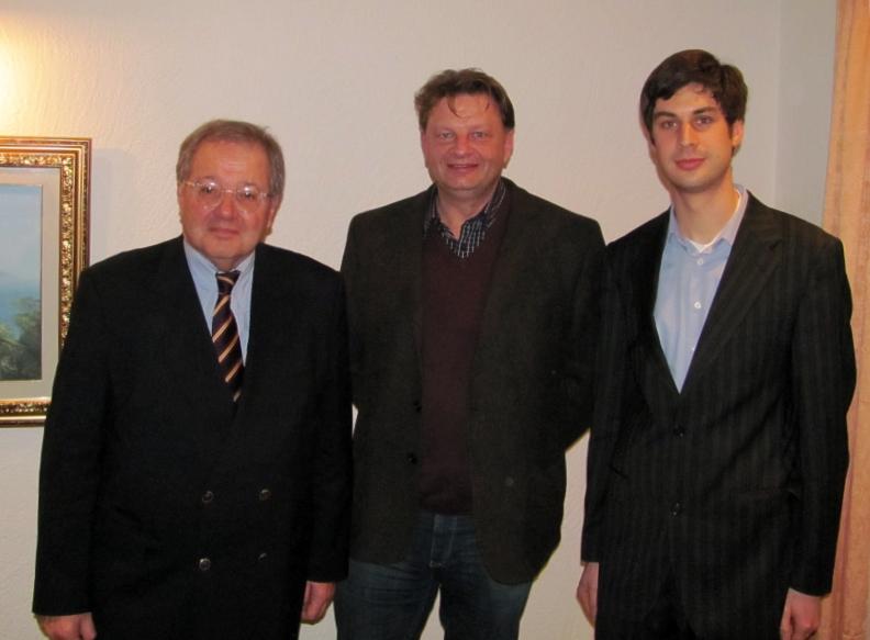 Werner Simmling, Ralf Stefan Sauer, Daniel Gallasch