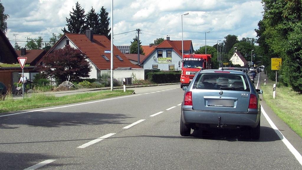 B30 Ortseinfahrt Gaisbeuren
